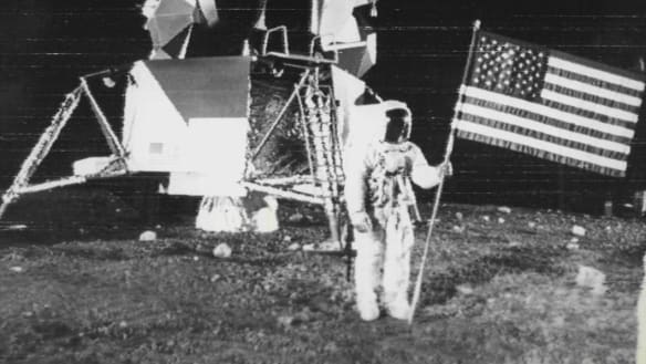 Neil Armstrong memorabilia fetches more than $10 million at auction