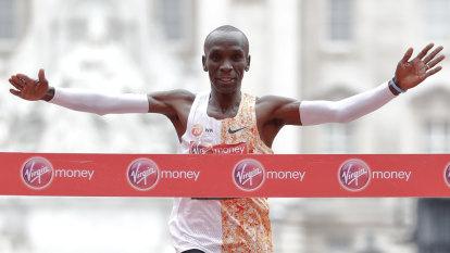 Kipchoge's bid to crack two-hour marathon 'like stepping on the moon'