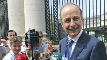 Fianna Fail leader Micheal Martin will become PM.