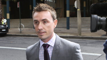 Seeking legal costs: James Ashby pictured in 2012.