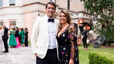 Anthony Tzaneros and Poppy O'Neil will tie the knot in front of 100 guests.
