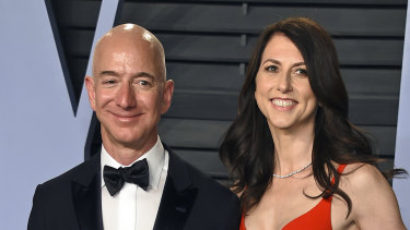 Jeff Bezos and MacKenzie Scott   finalised their divorce in 2019 after  25 years of marriage.