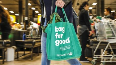 Woolworths and Coles have ramped up moves against plastic packaging ahead of their imminent bans on single use plastic bags.