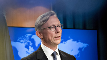 US special representative for Iran Brian Hook said the tally was based on reports provided via an encrypted messaging service.