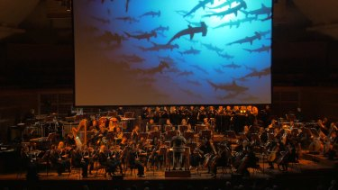 Gorgeous cinematography from National Geographic's archives accompanies the orchestral performance.