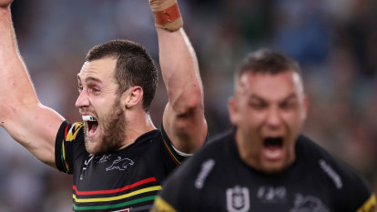 Storm on horizon: Panthers survive Souths scare to set up clash with Cam Smith's men