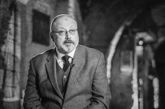 The United States' Magnitsky list includes Saudi officials who it believes are implicated in the killing of journalist Jamal Khashoggi, pictured.