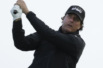 Phil Mickelson has dropped out of the world's top 50 for the first time since 1993.