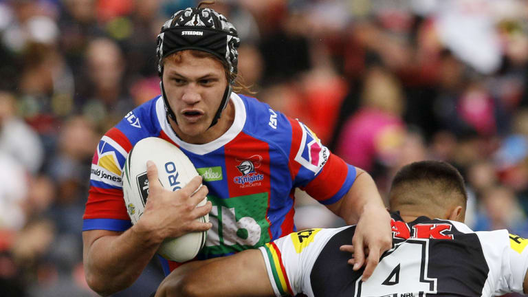 """"""" I won't be out for too long"""": Kalyn Ponga."""