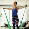 Can't find weights? Add resistance bands to your routine instead
