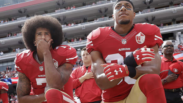 NFL players' union challenges anthem protest policy