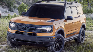 "Ford Bronco Sport will come in 10 colours including ""Area 51"", ""Cyber Orange"" and ""Rapid Red""."