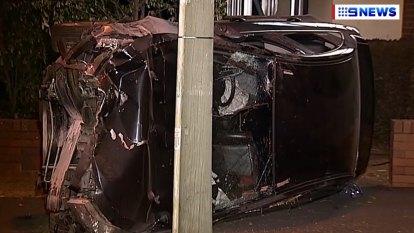 Innocent driver hit during Brisbane teens' alleged joyride in stolen car