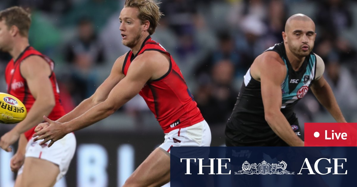 AFL 2020 round 17 live updates: Port Adelaide Power hit back hard after bright start from Essendon Bombers – The Age