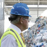 Morrison flags recycle product push as export ban looms