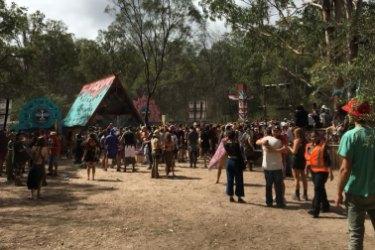 TheRabbits Eat Lettuce Festival atCherrabah Resort inElbow Valley, southern Queensland.