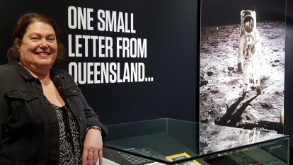 Moon mail: Neil Armstrong's personal letter to a Queensland teen