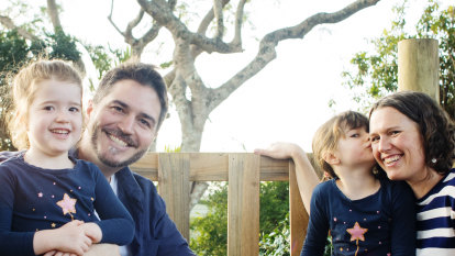 Fred Hollows' son Cam on fatherhood: 'It's not about blood. It's about family'
