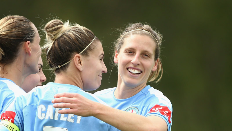 City romp past Wanderers, will host W-League grand final