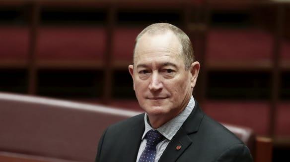 Turnbull, Shorten, Hanson, Hinch unite to condemn senator over immigration 'final solution'