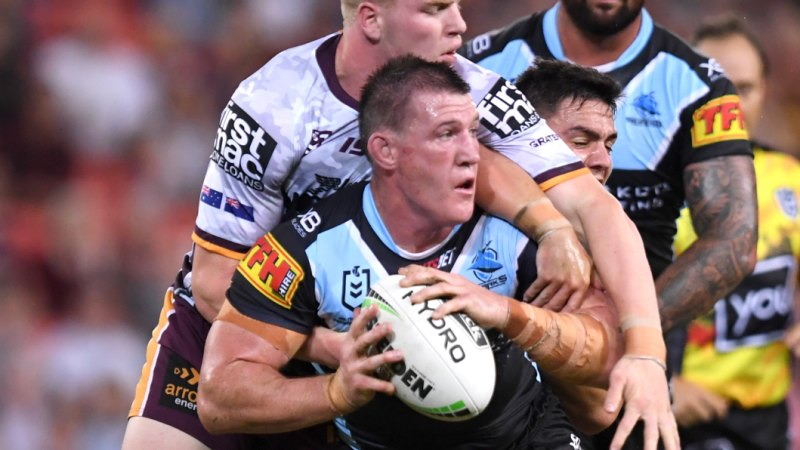 NRL 2019: 'You still have two heads': Cronulla's Paul Gallen