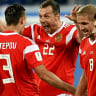 Russia on brink of next stage, Egypt's Cup in tatters
