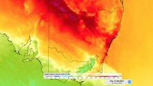Parts of NSW could experience extreme fire danger ratings on Thursday as a burst of hot and windy weather affects the state.