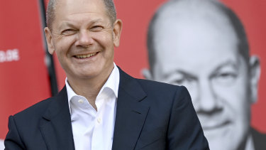 Olaf Scholz hopes to go from Merkel deputy to Chancellor.