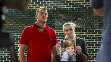 Parents Kerrie and Shane Clavant have grown increasingly concerned about their missing son Jamie.