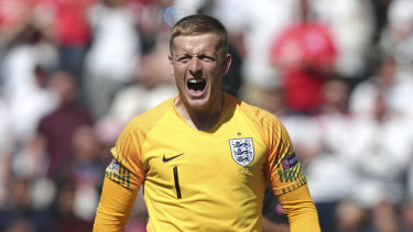 Pickford was the hero on two fronts in the penalty shootout.