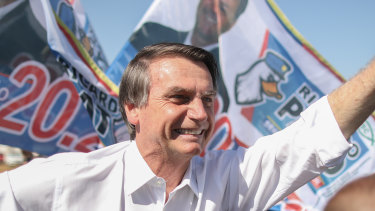 Jair Bolsonaro, Brazilian presidential candidate for the Social Liberal Party.