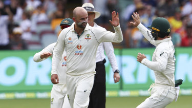 The wait continues for Nathan Lyon's 400th Test wicket.
