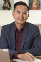 Professor Dian Tjondronegoro said privacy concerns were a key focus of the AI system's development.