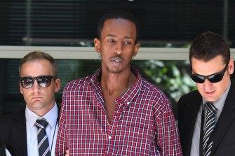 Ali Khalif Shire Ali was arrested in November 2017.
