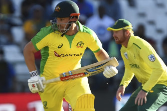 Australia's limited-overs captain Aaron Finch.