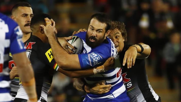 In the doghouse: Aaron Woods was forced out of Canterbury.