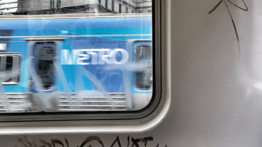 Metro paid $30,000-plus to clean-up tagging on its trains.