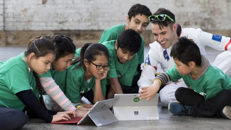 "Code Club Australiarecently held its annual ""Moonhack"" hackathon."
