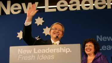 Kevin Rudd scored a resounding victory in 2007.