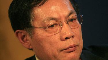 Ren Zhiqiang in 2009.