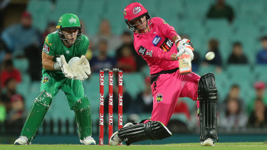 Sixers star Josh Philippe during February's Big Bash League final.