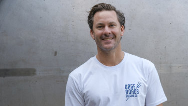Aaron Heary from Gage Roads says the big multinational beer companies are feeling threatened.