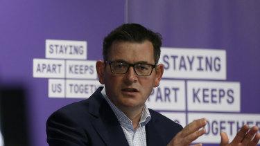 Victoria Premier Daniel Andrews.