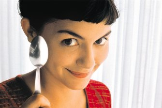 Audrey Tautou who stars in the film Amelie.
