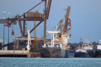 Defence is reviewing Landbridge's ownership of the Port of Darwin.