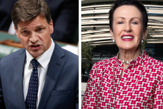Angus Taylor and Clover Moore.