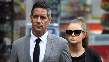 Roman Quaedvlieg's girlfriend, Sarah Rogers, has pleaded guilty to misleading a corruption probe against the pair.