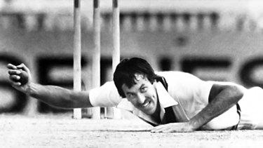 Heyday: Former Australian offspinner Bruce Yardley.