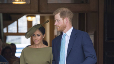 The Duke and Duchess of Sussex are heading our way.