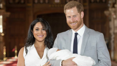 Meghan and Harry introduced the world to the newest royal - Archie Harrison Mountbatten Windsor - last week.